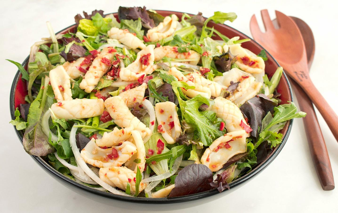 lemon calamari salad recipe