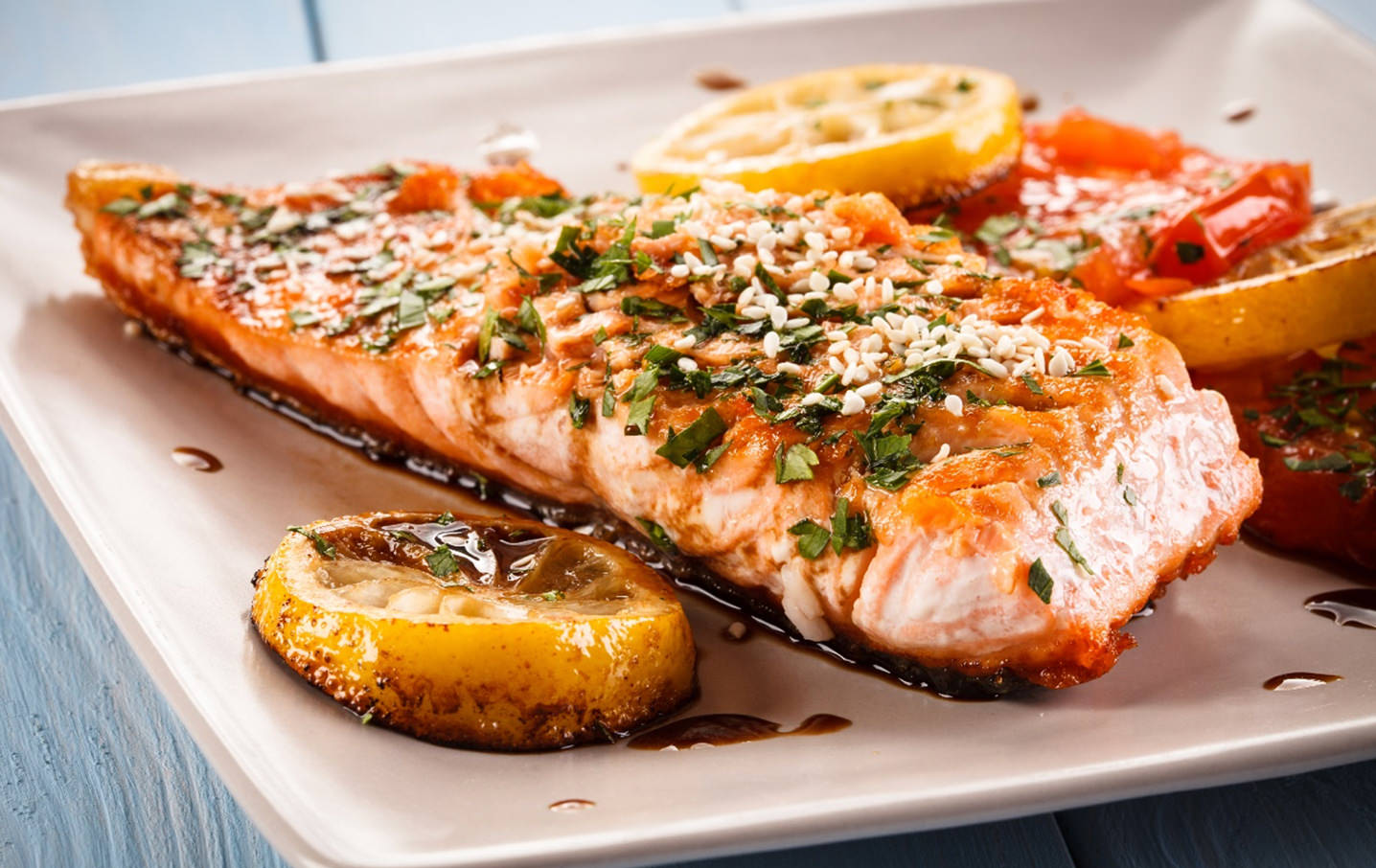 orange ginger baked salmon recipe