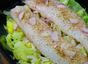 FISH AND CABBAGE WITH CUMIN (VLCD)